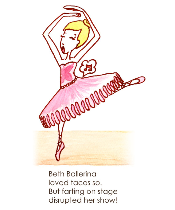 Alphabet B for Ballerina
