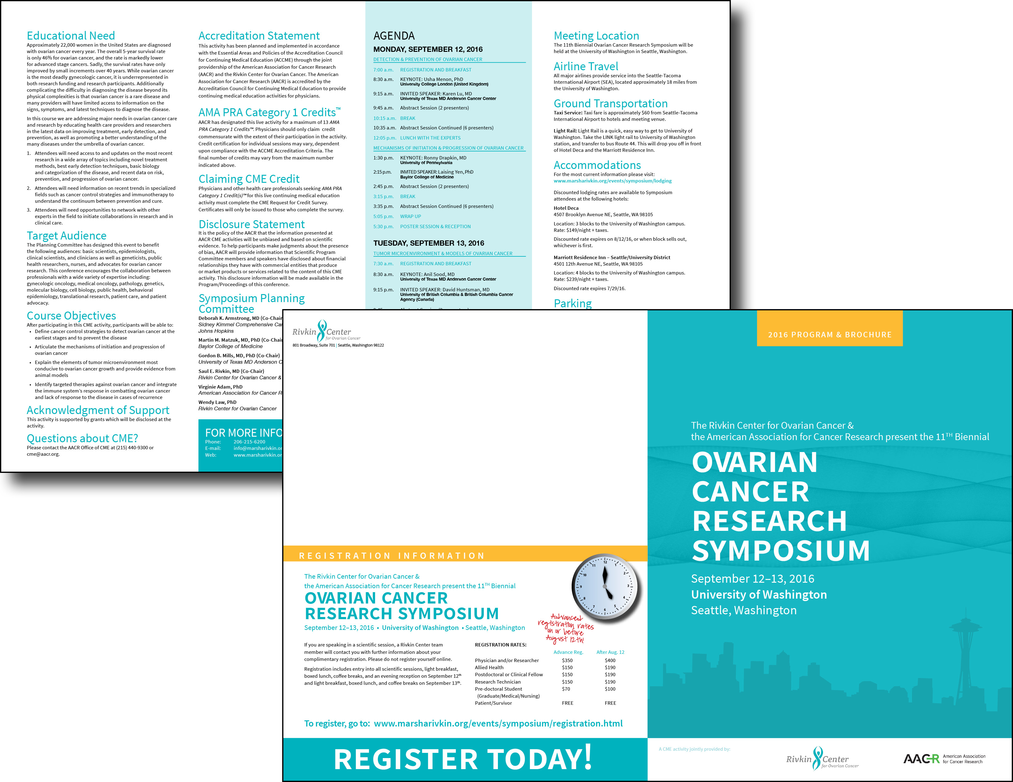 Rivkin Cancer Symposium Brochure