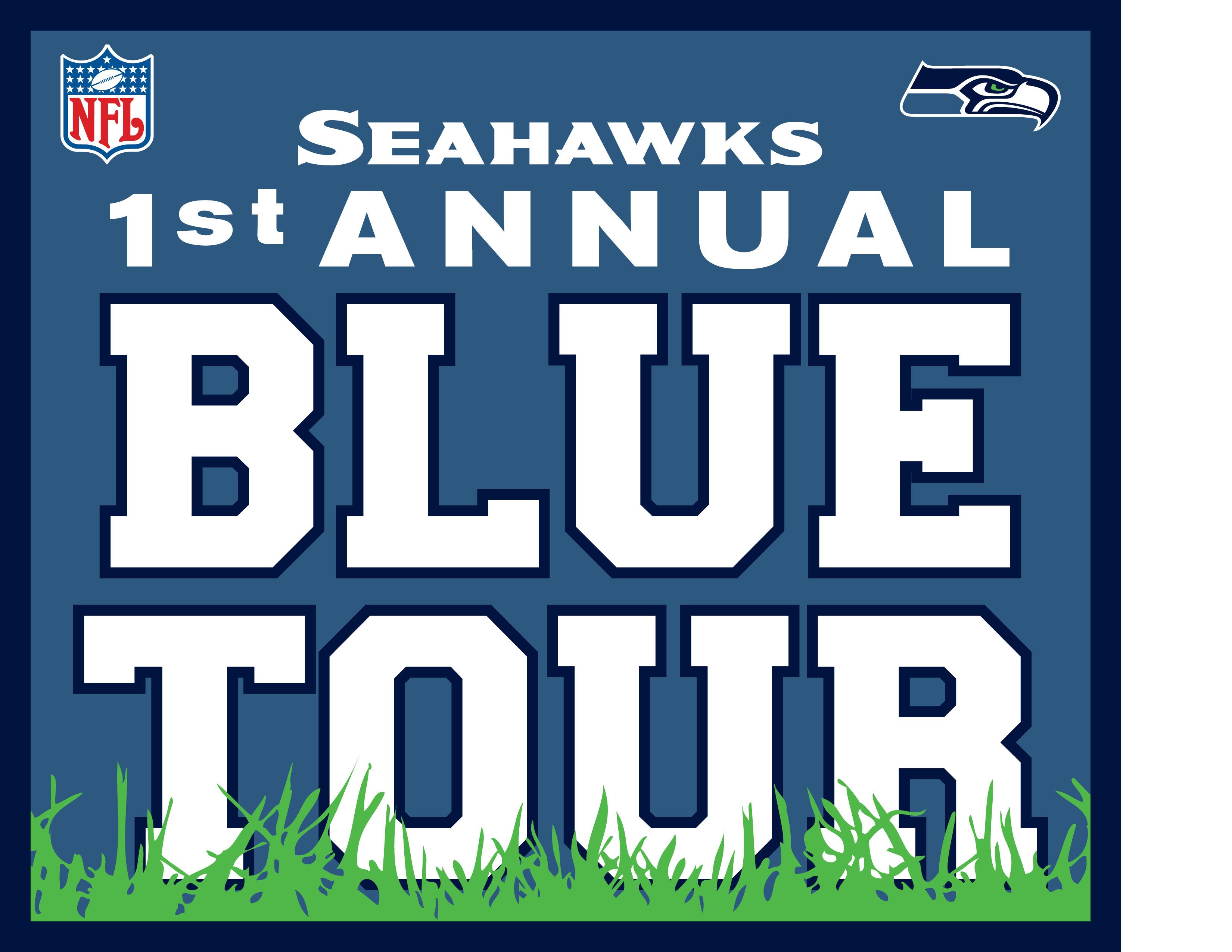 Seahawks Blue Tour logo