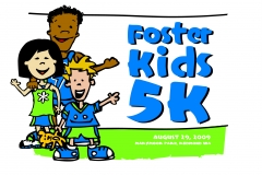 Foster Kids 5K Graphics