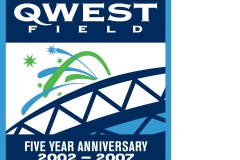 Qwest Field 5-Year Logo